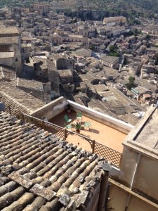 Ragusa Superior - high above Ragusa Ibla the old town