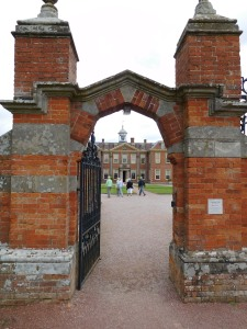Gatehouse to Hanbury Hall